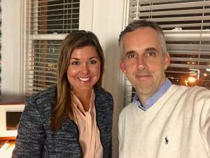 Chris Dornfeld and Monica Castello Main